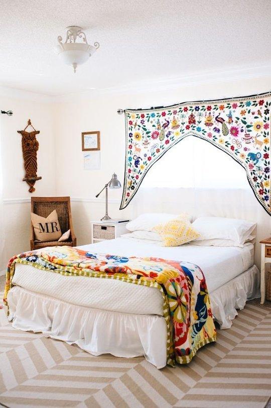 Правильный ковёр для спальни