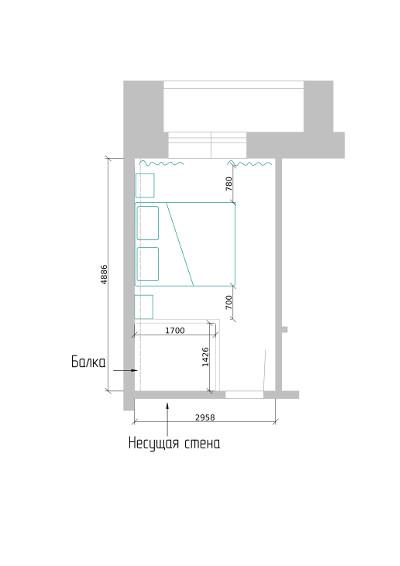 Встроенная гардеробная комната в доме, квартире - ДомЭконом